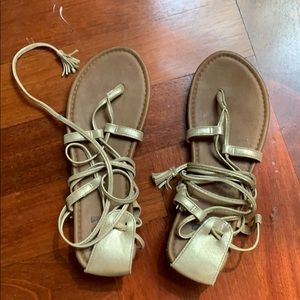 Billabong lace up sandals